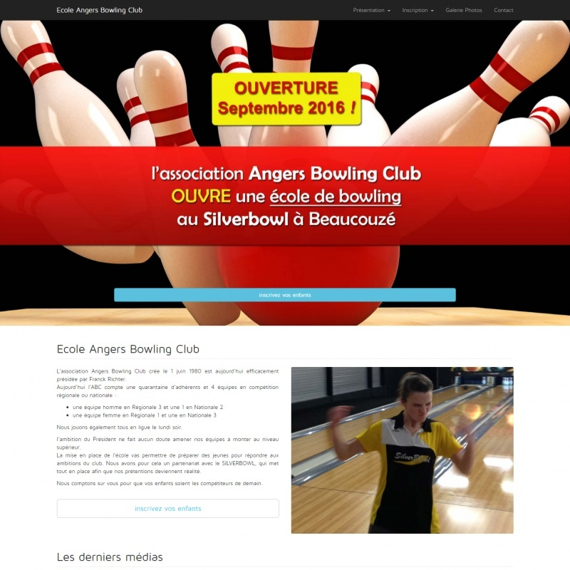 Ecole Angers Bowling Club